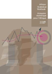 African Sratistical Yearbook 2017